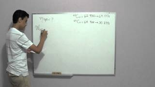 Química - Abundancia Isotópica - Masa atómica promedio de un átomo