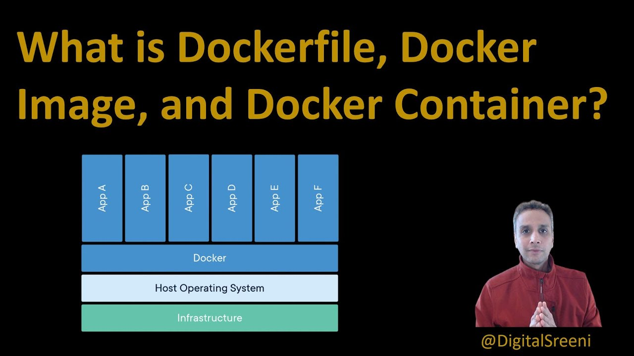 What is Dockerfile, Docker Image, and Docker Container