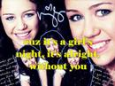 Miley Cyrus- G.N.O. (Girl's Night Out) official Karaoke