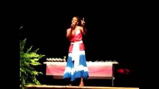 """Pageant Performance of """"Baby Girl"""""""