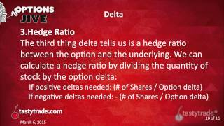 Options Delta: What Does It Tell Us? | Options Jive