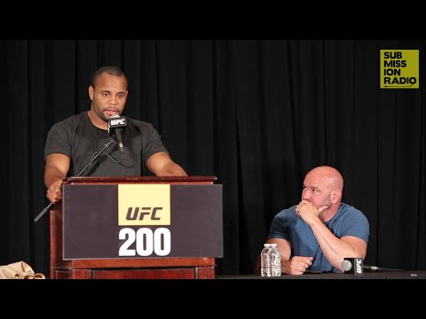 Press Conference: UFC Announces Jon Jones Pulled From UFC 200, Cormier Reacts