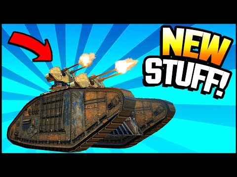 Crossout - EPIC NEW ITEMS! Cyclone, Goliath Tracks, M-37 Piercer, Fafnir, Prometheus V, Aspect
