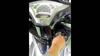 Khóa cảm ứng sờ điểm bí mật chống trộm cho xe máy AIR BLADE 125
