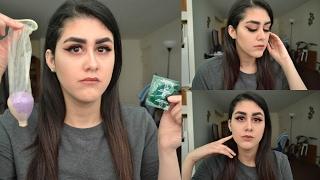 Using A Beauty Blender Inside A Condom?!!!! 🍆