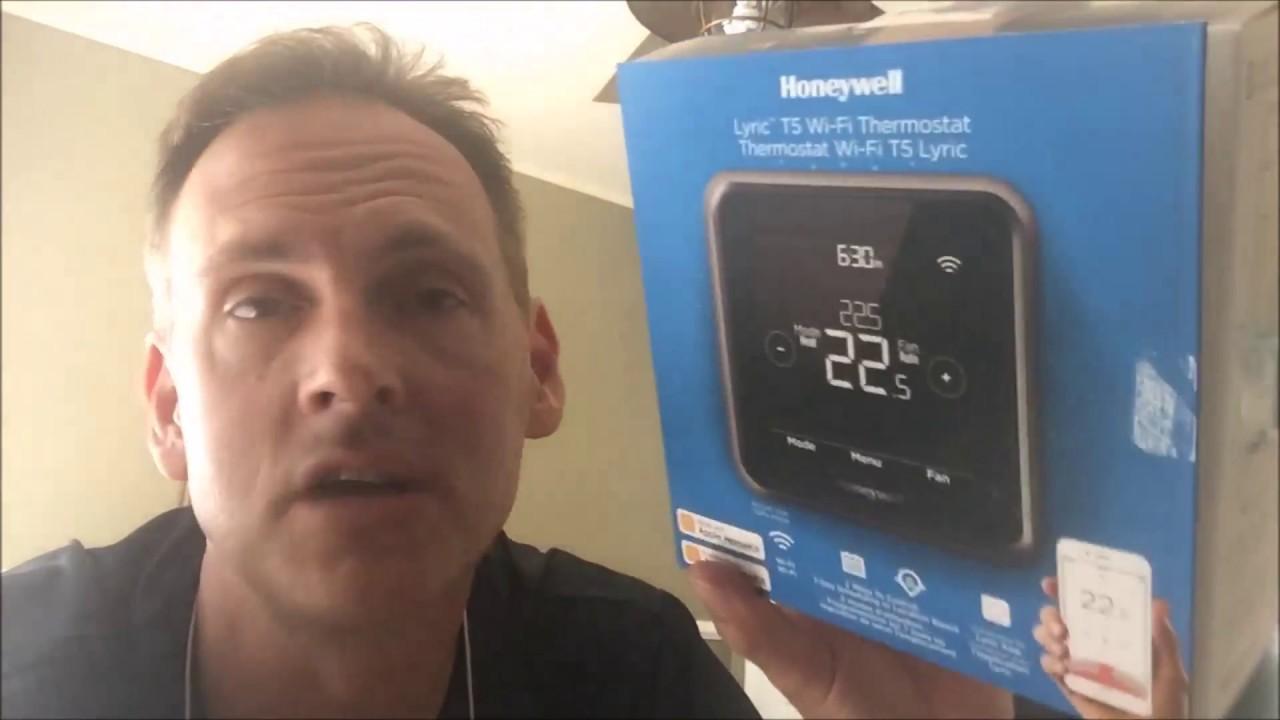 honeywell lyric thermostat wiring diagram lyric t5 installation shown youtube  lyric t5 installation shown youtube