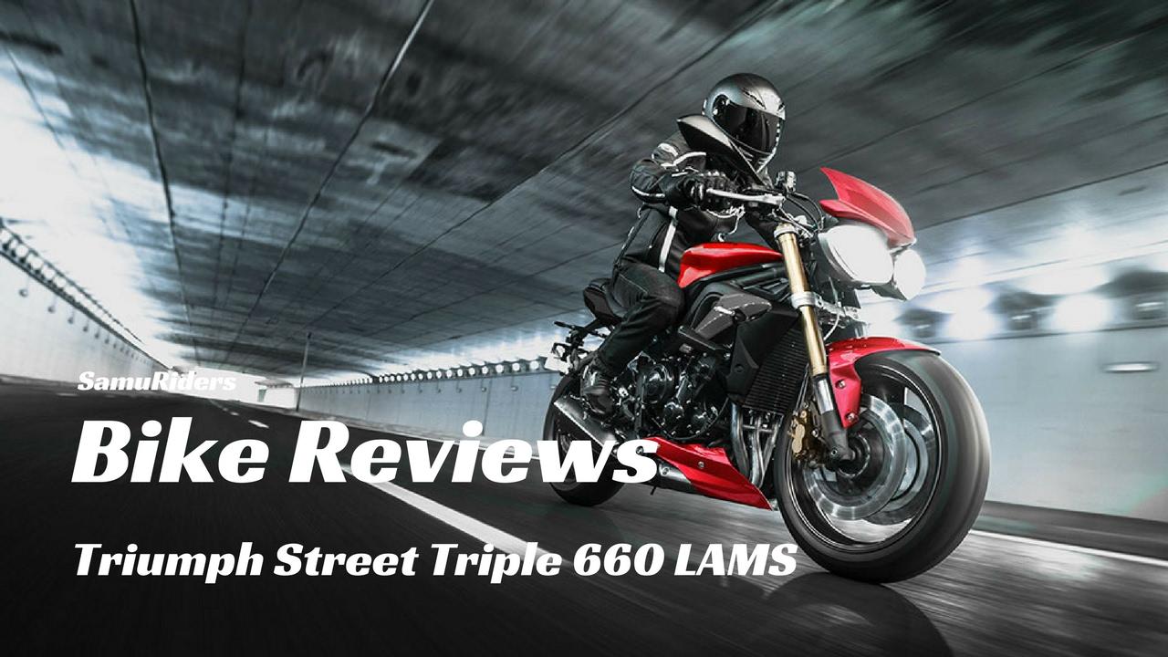 Triumph Street Triple 660 Lams Quick Review Youtube