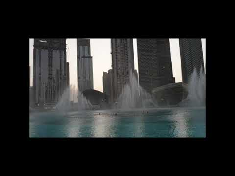 Dubai Fountain |Water Dance at Burj Khalifa Dubai UAE