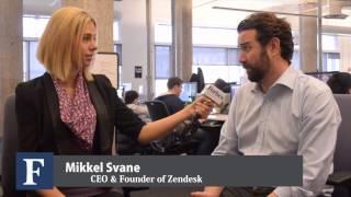 Pop 17 Meets with Mikkel Svane CEO & Founder of Zendesk