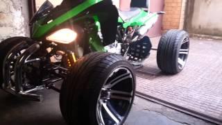 Quad 250cc atv utv drift engine sound
