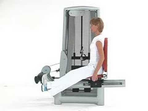 seated calf machine youtube. Black Bedroom Furniture Sets. Home Design Ideas