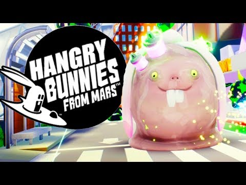 Destroying the Alien Rabbit Invasion! - Hangry Bunnies From Mars VR Gameplay - HTC Vive VR