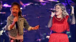 "Angelica Hale and Kelly Clarkson ""Never Enough"""