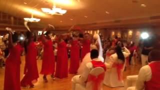 Giving him something he can feel wedding dance