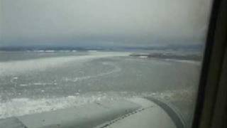 Landing at Ted Stevens Anchorage International Airport
