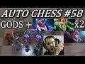 Perma Silence, Stun, Grave! Unstoppable God Build | Dota Auto Chess Gameplay 58