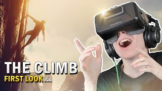 BEAUTIFUL VR CLIMBING GAME! | The Climb (Oculus Rift Gameplay)