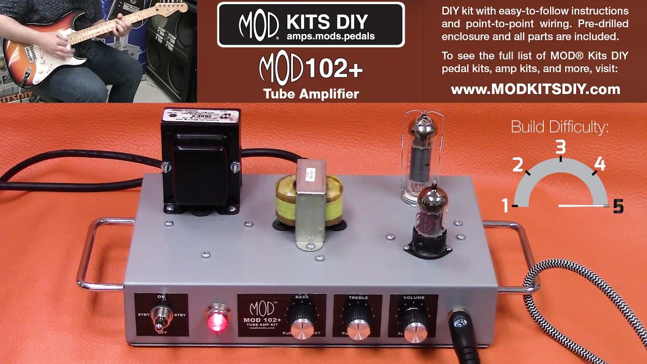 Mod kits diy mod102 amp demo 8w tube amplifier youtube mod kits diy mod102 amp demo 8w tube amplifier solutioingenieria Images