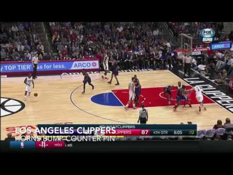 Los Angeles Clippers | Man Offense - Horns - Bump - Counter - Pin