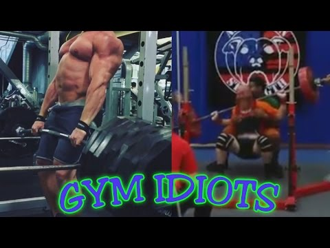 Gym Idiots - Brad Castleberry's Chest Day Cheats & TWO Squat Disasters
