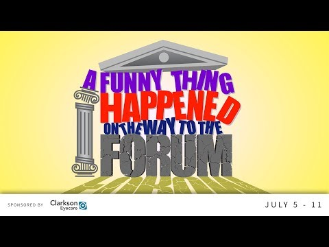 A Funny Thing Happened on the Way to the Forum | The Muny