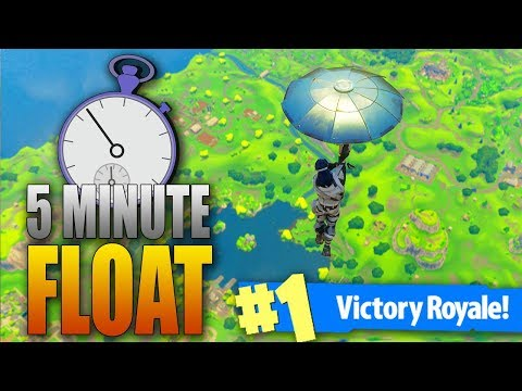 FIVE MINUTE FLOAT CHALLENGE - Fortnite Battle Royale