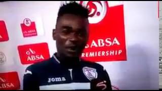 South Africa player Mohammed Anas thanking both wife and girlfriend in MoTM speech