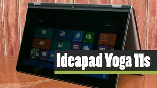 Lenovo Ideapad Yoga 11s Laptop Tablet Convertible Overview and First Impressions