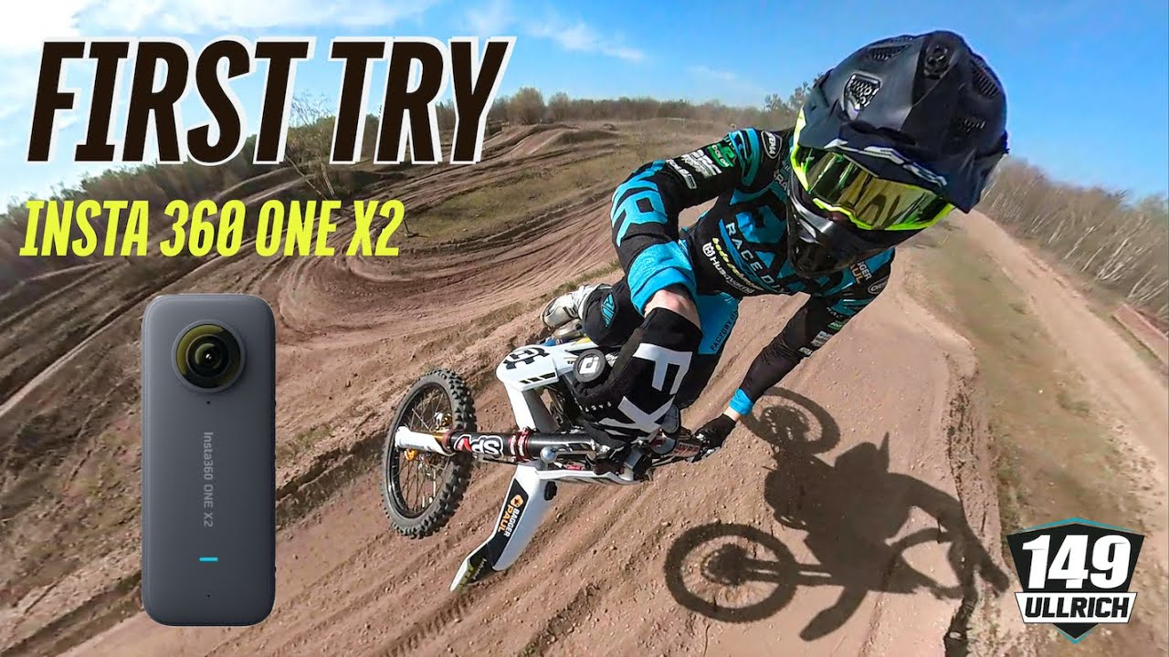 BEST ACTION CAM I HAVE EVER TRIED | Insta360 ONE X2 | 360° CAMERA | EPIC MOTOCROSS SHOTS