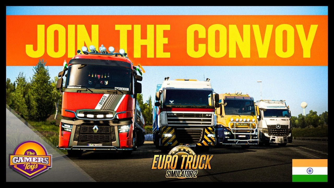 🔴WEEKEND SPECIAL MULTIPLAYER CONVOY EVENT | Euro Truck Simulator 2 India Live⚡