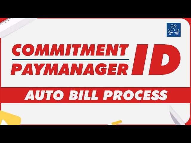 Commitment ID | Paymanager | RajEmployee | Auto Bill | Salary