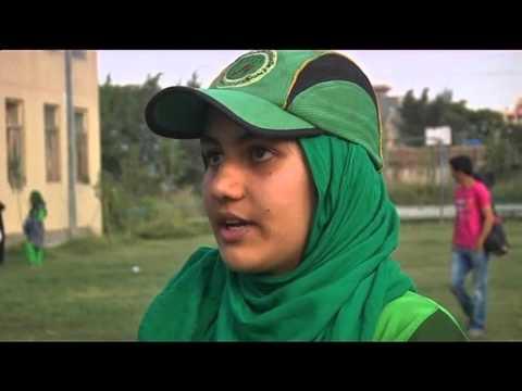 تمرینات تیم کریکت زنان افغانستان در زیر زمین thumbnail