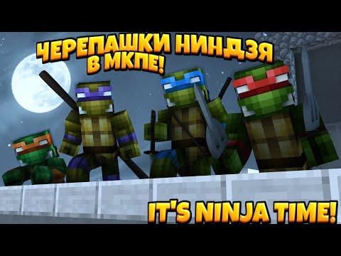 ЧЕРЕПАШКИ НИНДЗЯ В МКПЕ! IT'S NINJA TIME! (feat. Аллер, FleiMi, Фудик)