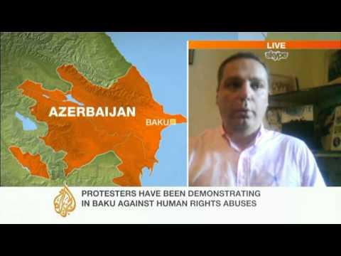Baku police arrest opposition protesters