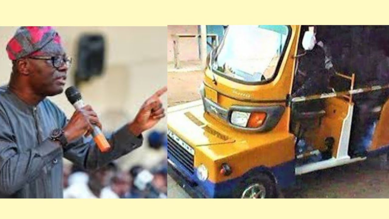 Download UNBELIEVEABLE: SEE HOW LAGOSIANS  CONVERTED THEIR KEKE-NAPEP TO CAR (FOUR CYCLE) TO AVOID ß@N
