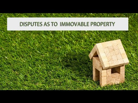 Disputes as to immovable property (CRPC under section- 145