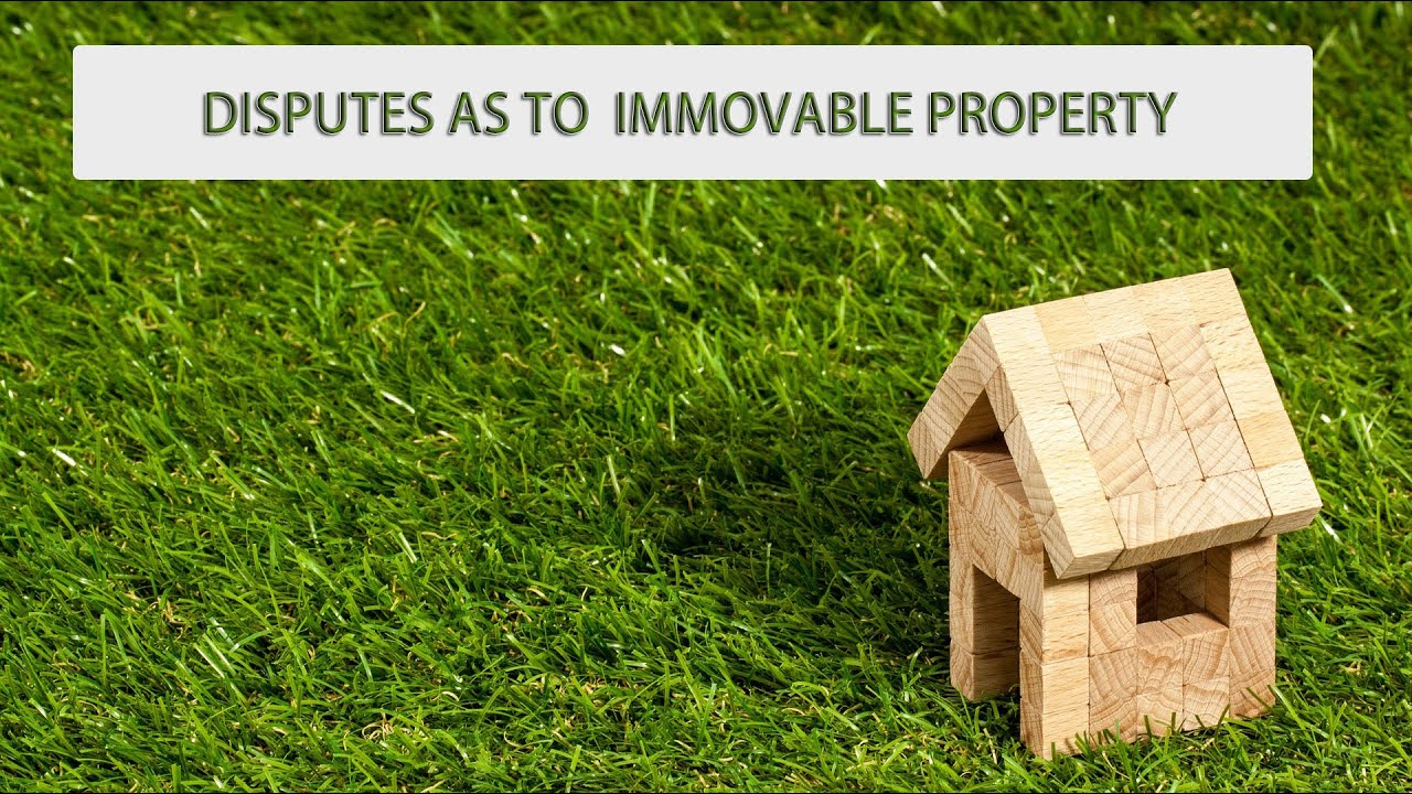 Disputes as to immovable property (CRPC under section- 145 to 148) Detail  in hindi