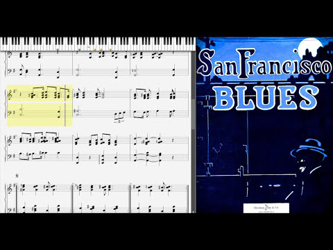 San Francisco Blues by Chris Smith (1916, Ragtime piano)