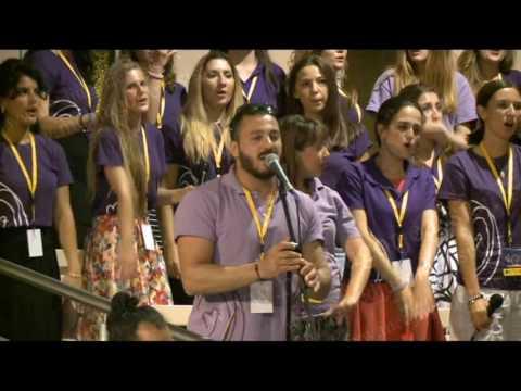 Medjugorje 5 Agosto 2016 - Festival dei Giovani - Canti di chiusura