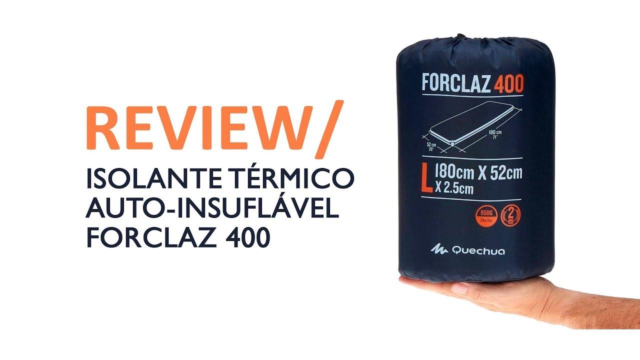 fe7107ecd REVIEW ISOLANTE TÉRMICO AUTO-INSUFLÁVEL FORCLAZ 400 QUECHUA - Mundo de  Quintal