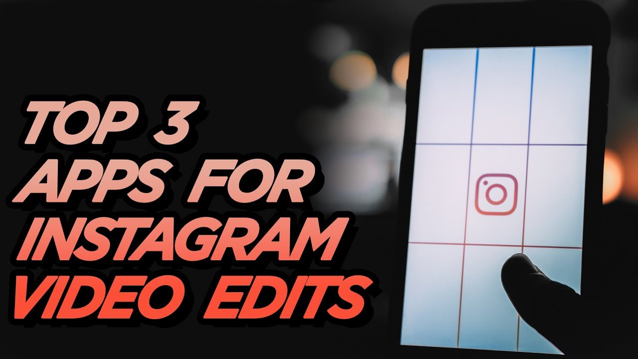 Top 3 Apps For Instagram VIDEO Edits 🔥 | Aesthetic + Fun + Easy | 2-Minute  Tuesday