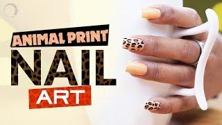 DIY: Animal Print Nail Art   Nail Art Tutorial