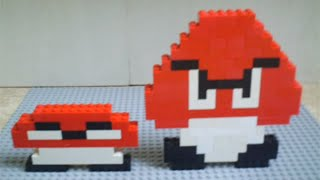 How To Make Lego Goomba & Squashed Goomba