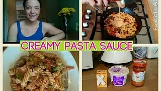 Creamy Pasta Sauce | Healthy Recipes