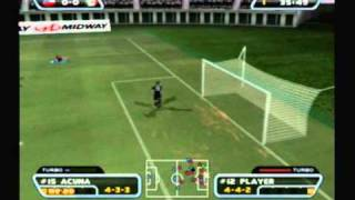 Redcard 2003 Gameplay - Chile vs Mexico