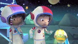 Зак и Кряк-Полёт на луну