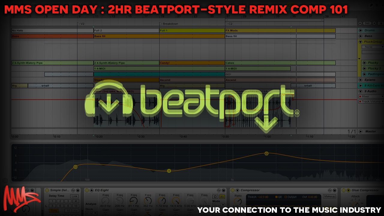 Beatport Remix Competition : Tutorial on Remixing