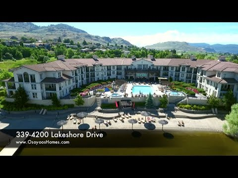 339-4200 Lakeshore Drive - Walnut Beach Resort. Waterfront Resort Condo in Osoyoos For Sale