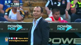 Resumen del partido de la jornada 14, Tigres 5 - 2 Dorados
