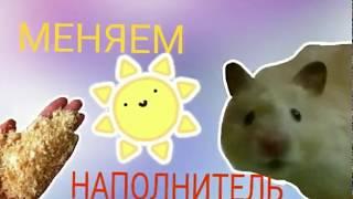 видео Меняем наполнитель